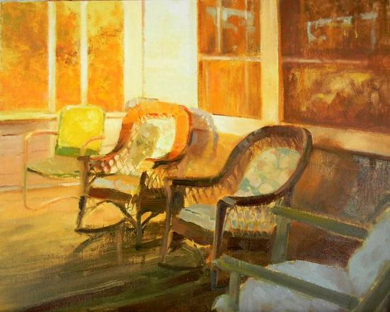 Back Porch - Oil