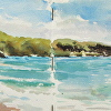 Guardalavaca Beach, plein air