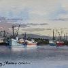 Morning at the Wharf