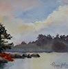 Autumn Lake Morning
