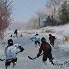 Pond Hockey Sketch I