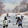 Pond Hockey Sketch II