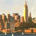 Mark Hunter - Salmagundi Club 2021 Cityscapes Open Juried Exhibition