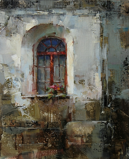 Layers by Tibor Nagy Oil ~ 14 x 11