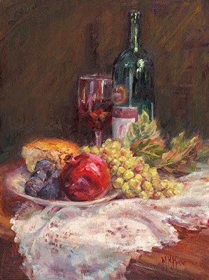 Pomegranate and Figs - Oil