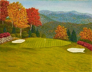 GOLF COURSE PAINTINGS