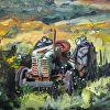 Vintage Oliver Tractor