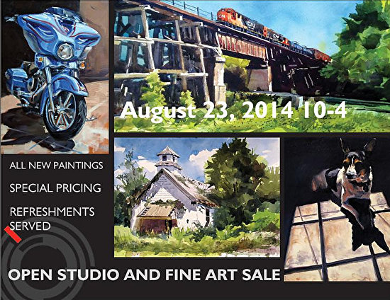 Open Studio and Fine Art Sale 2014 -