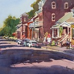 Spencer Meagher - Expressive Watercolor in the Studio - Lake Villa, IL