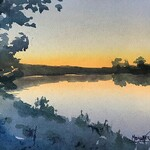 Spencer Meagher - Expressive Watercolor in the Studio - Door County, WI