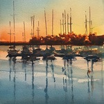 Spencer Meagher - ONLINE - Fundamentals of Watercolor - Petoskey, MI