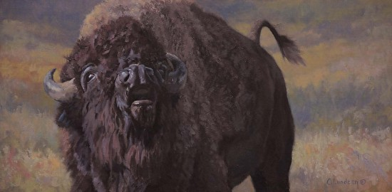 In the Rut - Bison - Oil