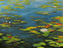 Floating Along by Claire Beadon Carnell Oil ~ 24 x 30