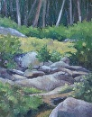 The Rocks Remember by Claire Beadon Carnell Oil ~  x