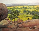 View from Little Round Top by Claire Beadon Carnell Oil ~  x