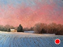 Winter Light by Claire Beadon Carnell Oil ~  x
