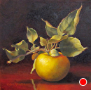 Temptation by Claire Beadon Carnell Oil ~ 8 x 8