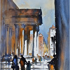 Street Corner in Rome