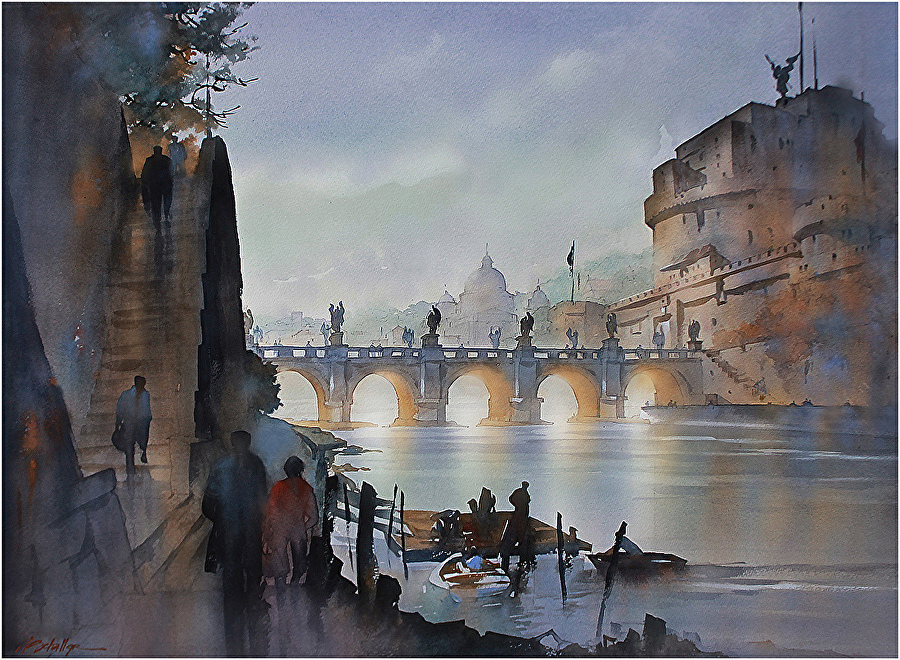 Thomas w schaller work zoom ponte sant 39 angelo rome for W architecture toulouse