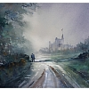 from dartmoor by Thomas  W. Schaller Watercolor ~ 18 inches x 24 inches