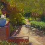 Betty Hendrix - Dry Painting: Members of Pastel Society of NC