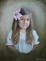 Stella Grace by Brooke Lutz Oil ~ 24 x 20