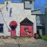 "Debra Joyce Dawson - ""Small Town, Ohio"" select paintings by Members of Ohio Plein Air Society"