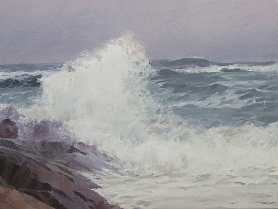 A Nor'easter Coming - Oil