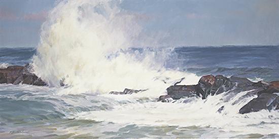 Pounding Surf - Oil