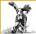 "Gordon Setter 2 by Carole Raschella Graphite ~ 11"" x 14"""