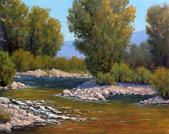 """""""First Hint of Fall"""" - Oil"""