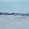 Maine Plein Air Painting Casco Bay View from Portland 1-14