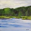 Royal River Maine Painting Yarmouth Landing 327
