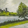 """Charles River Painting Cambridge Massachusetts """"On the Charles 1"""""""