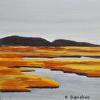 Marsh Magic 5 Maine Oil Painting