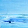 Maine Painting Essay on the Sea 8 Acrylic Seascape on Panel
