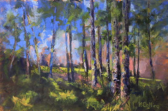 Rainbow Woodland - Oil