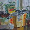 """Grandma's Treasures"", 8"" x 12"", oil, by ANASTASIA DUKHANINA."