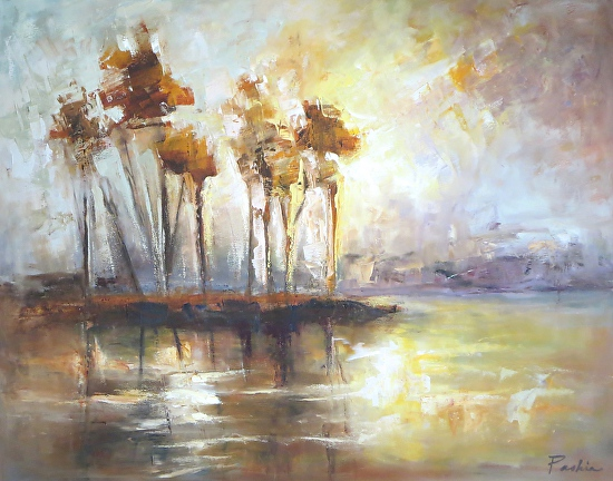 Trees of Amber - Oil