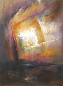 Progress by Rebecca Pashia Oil ~ 48 x 36