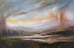 Foothills by Rebecca Pashia Oil ~ 40 x 60