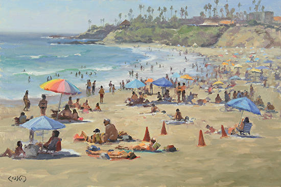 4th of July (Main Beach) - Oil