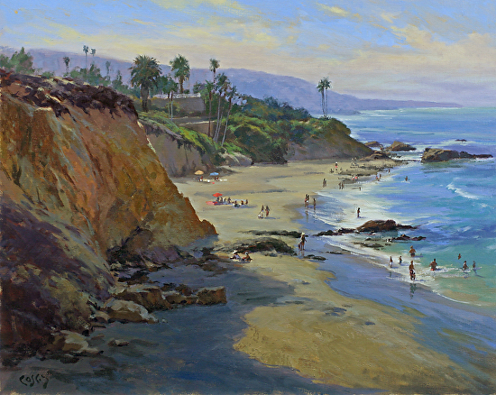 Summer at Divers Cove - Oil