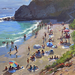 """John Cosby - Painting With Control and Design """"Maui"""""""