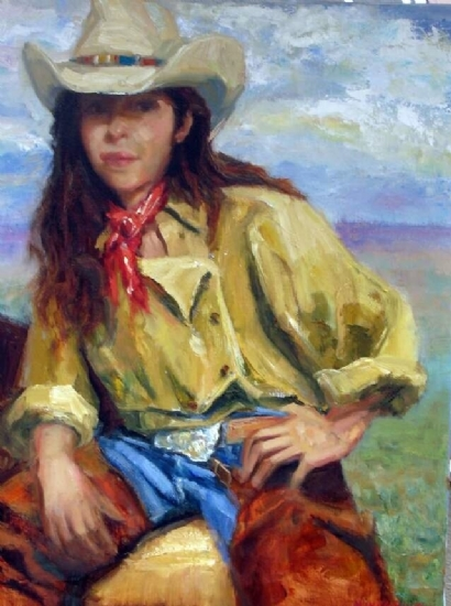 Cowgirl's Don't Cry - Oil