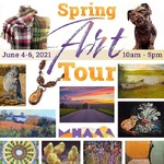 Pamela Ruschman - Spring Art Tour