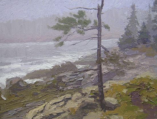 """Lone Pine"" - Oil"
