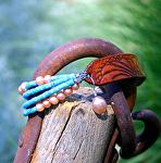 54712 Rendezvous West Daisy & Peaches Bracelet by Deborah & Russell Shamah  ~  x