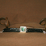 50315 Rendezvous West Bracelet by Deborah & Russell Shamah Carved Leather ~  x