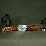 50415 Rendezvous West Bracelet by Deborah & Russell Shamah Carved Leather ~  x
